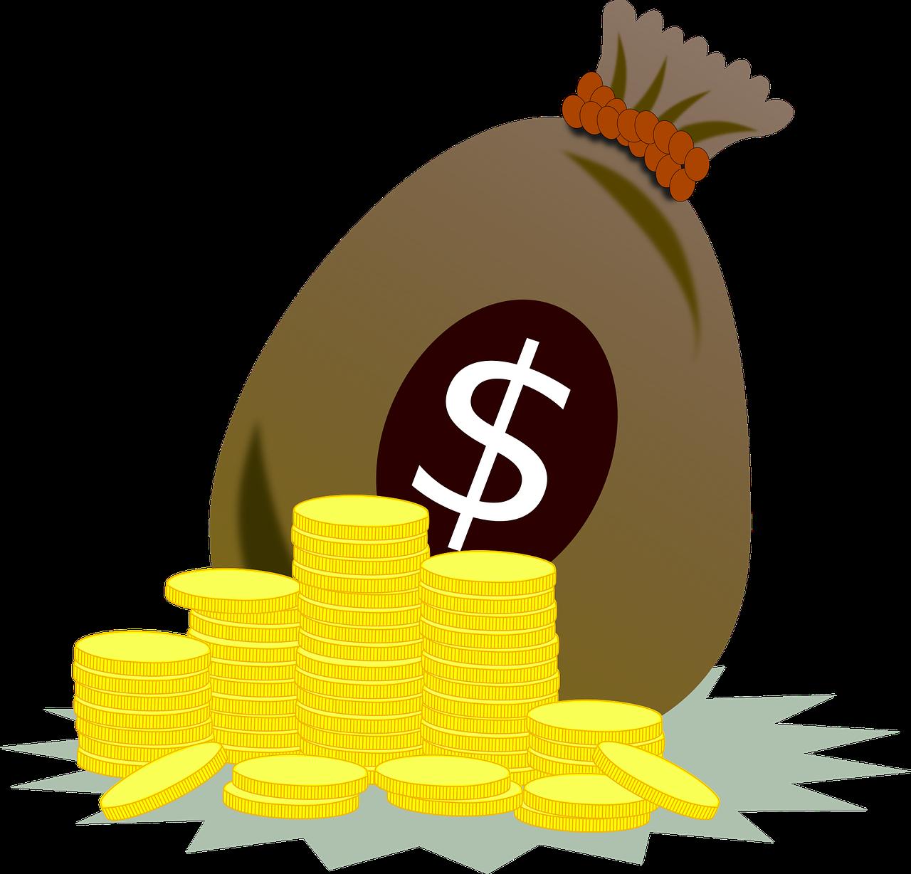 סק כסף ומטבעות