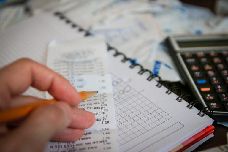 חישוב מיסים במחברת
